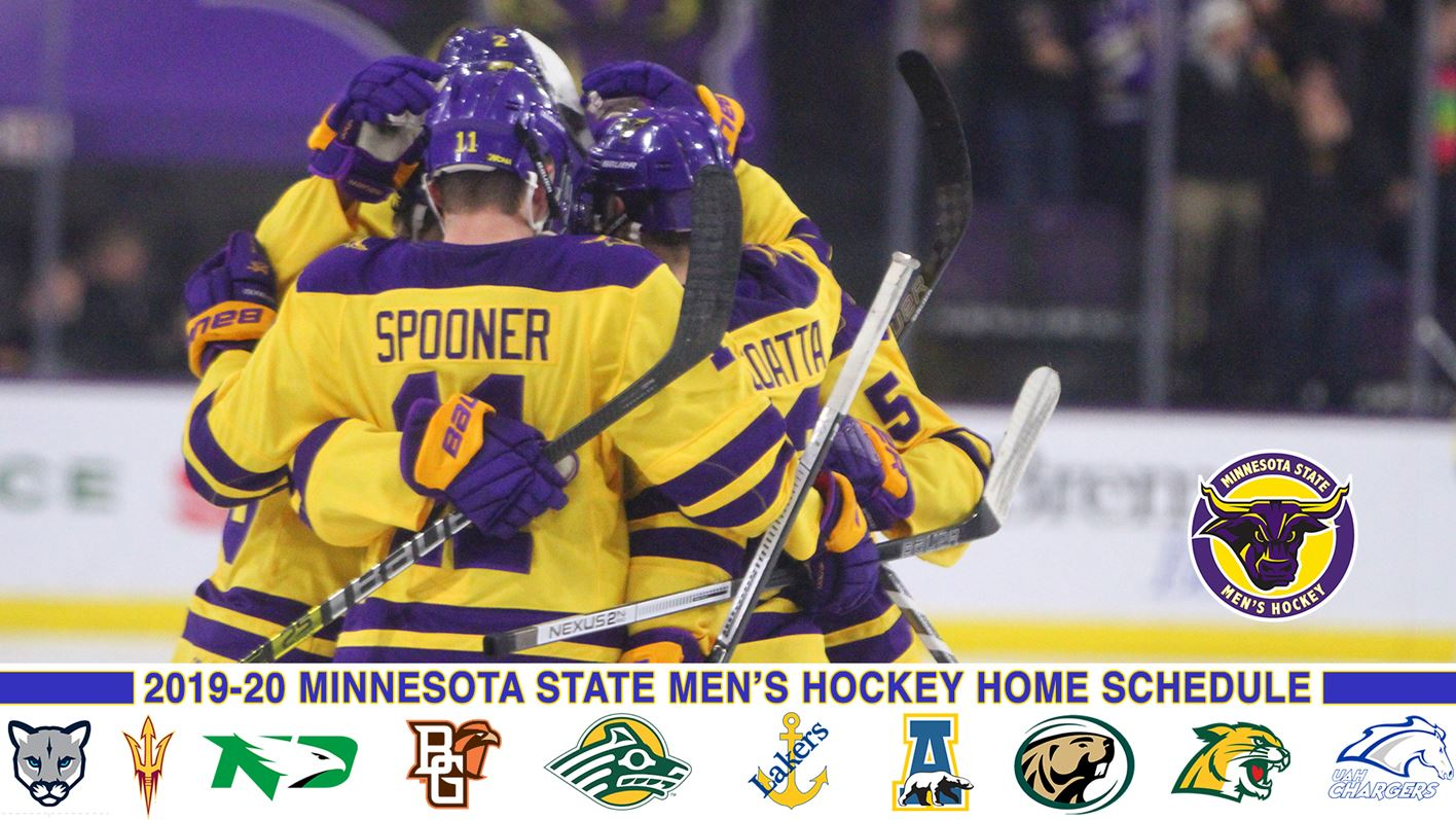 Minnesota State Men S Hockey Schedule For 2019 20 Announced